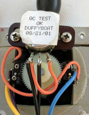 duffy infaspeed controller throttle rebuild Electric Powered Pontoon Boats Duffy Electric Boat Wiring Diagram #16